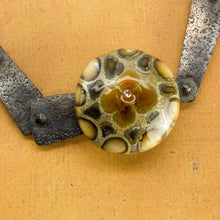 Yucca Necklace with Desert Bloom Cabochon