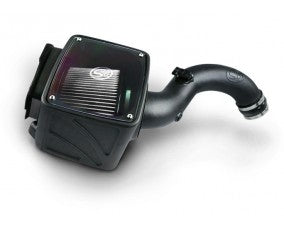 S&B 75-5101D Cold Air Intake (Dry Filter) for LB7