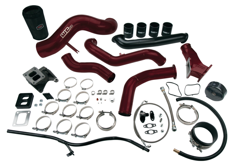 2006-2007 LBZ S400 Single Turbo Install Kit (WCFab 100490)