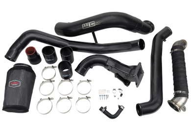 2011-2016 LML Duramax V Band Flange High Flow Intake Bundle Kit (WCFab 100716)