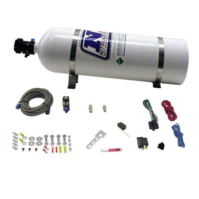 Diesel Dry Nitrous System with 15lb Bottle, 50hp