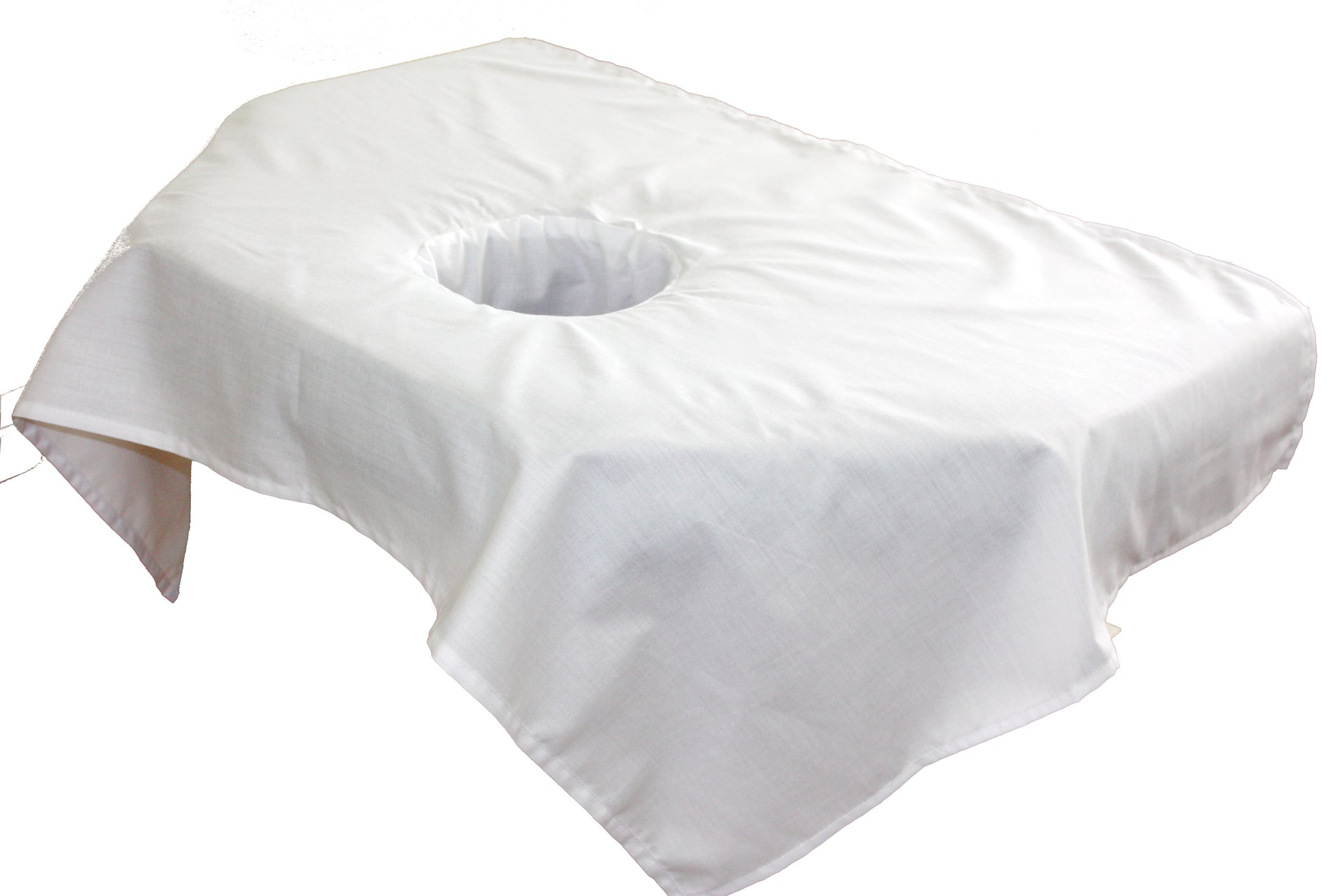 Professional Massage Table Sectional Sheet With Face Rest