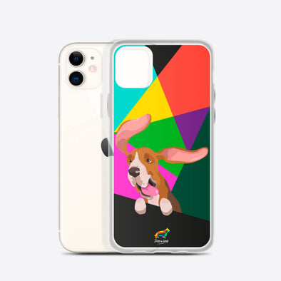 Basset Hound (Funda para iPhone) - Perro a Bordo
