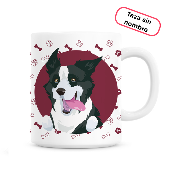 Taza Border Collie - Este trago va dedicado