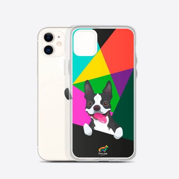Boston Terrier (Funda para iPhone) - Perro a Bordo