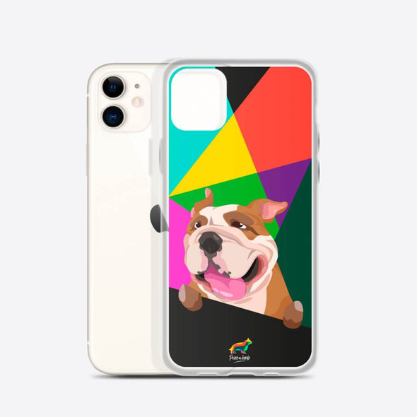 Bulldog Inglés (Funda para iPhone) - Perro a Bordo