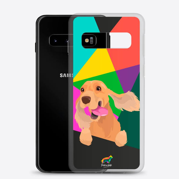 Cocker Marrón (Funda para Samsung) - Perro a Bordo