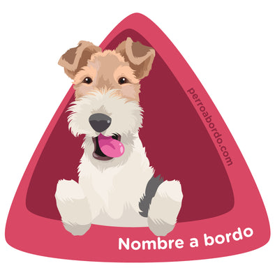 Fox Terrier a bordo