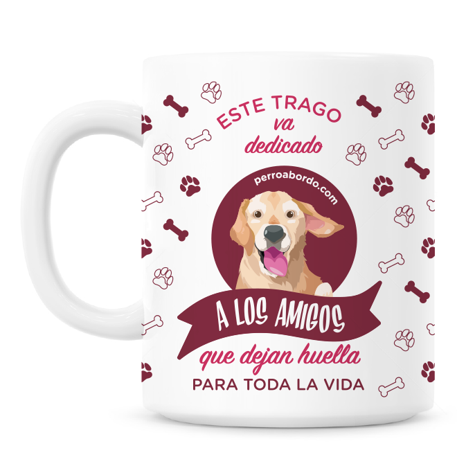 Pegatina Golden Retriever - Perro a bordo