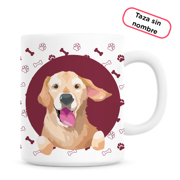 Taza Golden Retriever - Este trago va dedicado