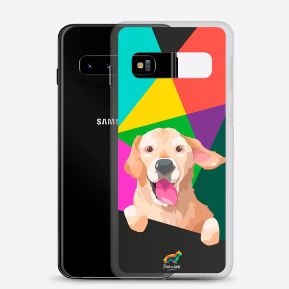 Golden (Funda para Samsung) - Perro a Bordo