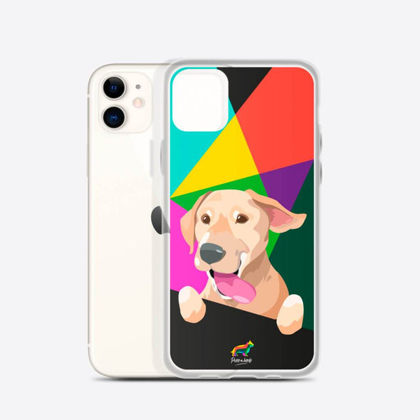 Labrador Amarillo (Funda para iPhone) - Perro a Bordo