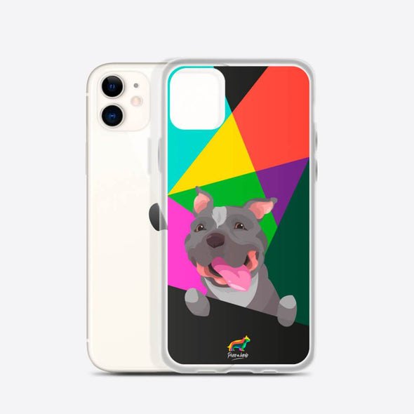 Pit Bull (Funda para iPhone) - Perro a Bordo