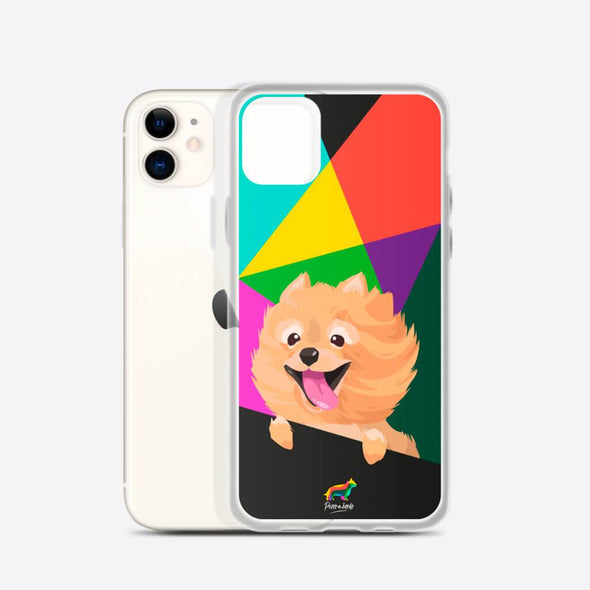 Pomerania (Funda para iPhone) - Perro a Bordo