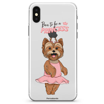 Funda Born to be a Princess Yorkie
