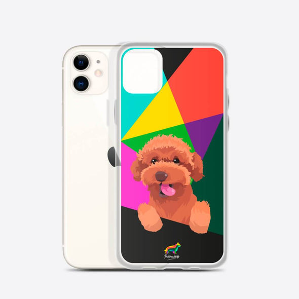 Red Poodle (Funda para iPhone) - Perro a Bordo