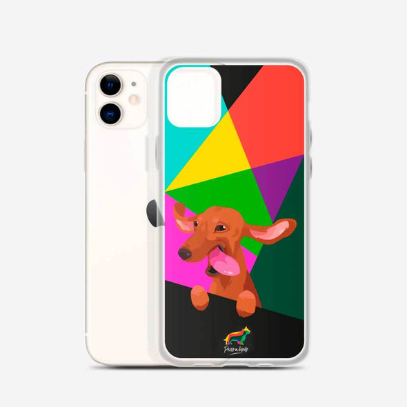 Teckel Canela (Funda para iPhone) - Perro a Bordo