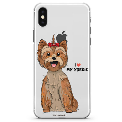 Funda i Love My Yorkie