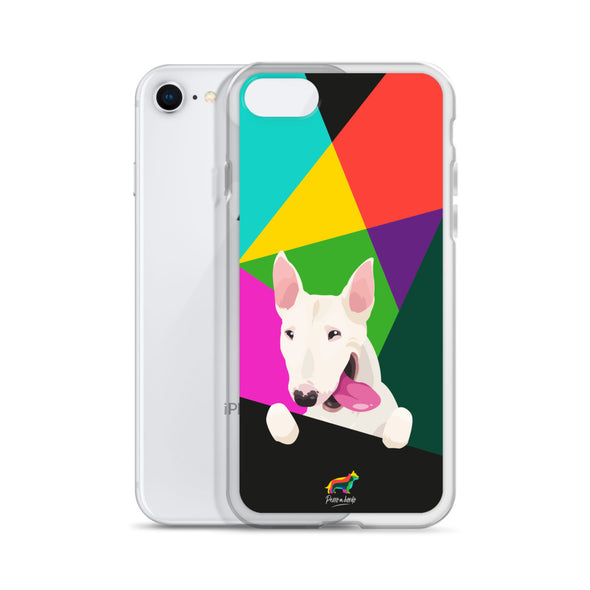 Bull Terrier Blanco (Funda para iPhone)