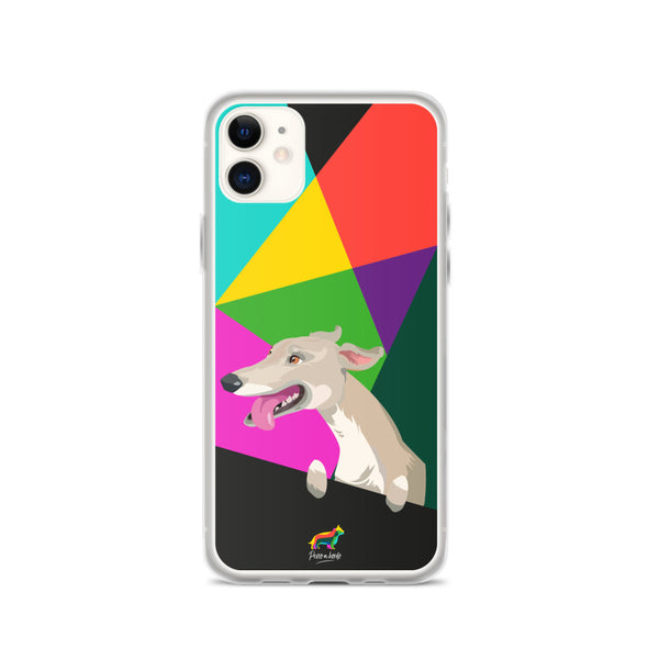 Galgo Blanco (Funda para iPhone)