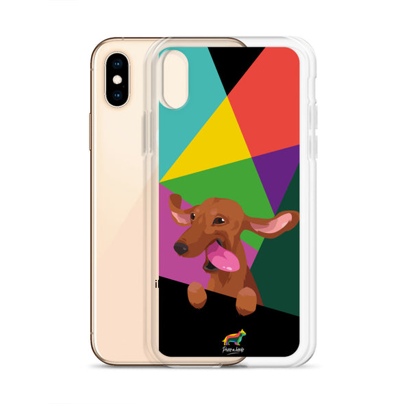 Teckel Canela (Funda para iPhone)