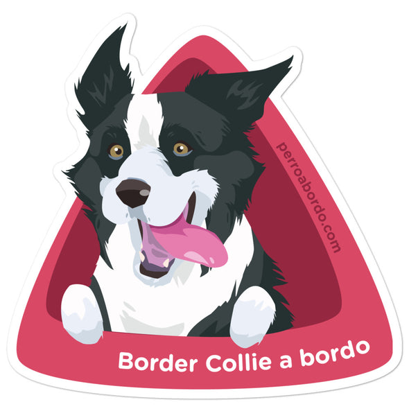 Pegatina Border Collie