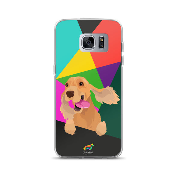 Cocker Marrón (Funda para Samsung)