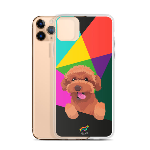 Red Poodle (Funda para iPhone)