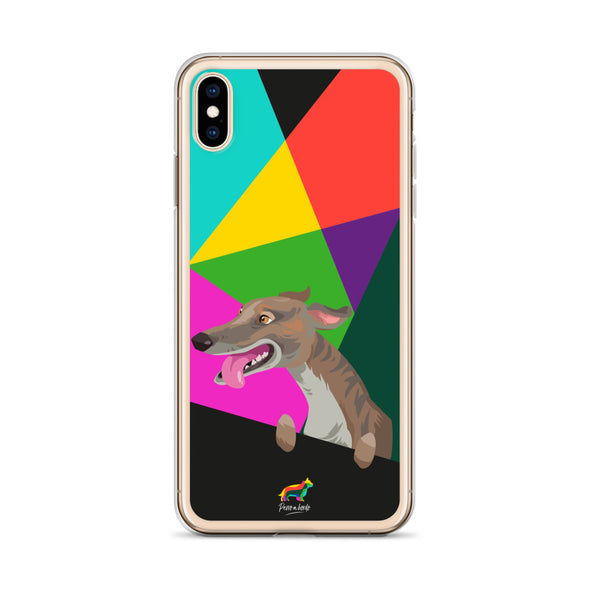 Galgo Atigrado (Funda para iPhone)
