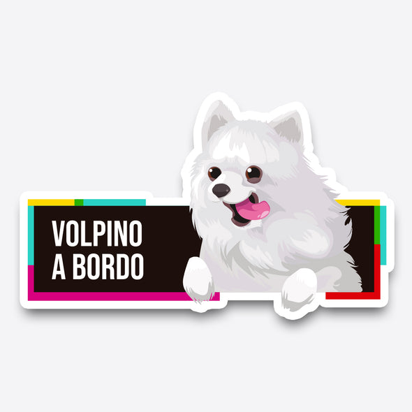 Volpino a bordo