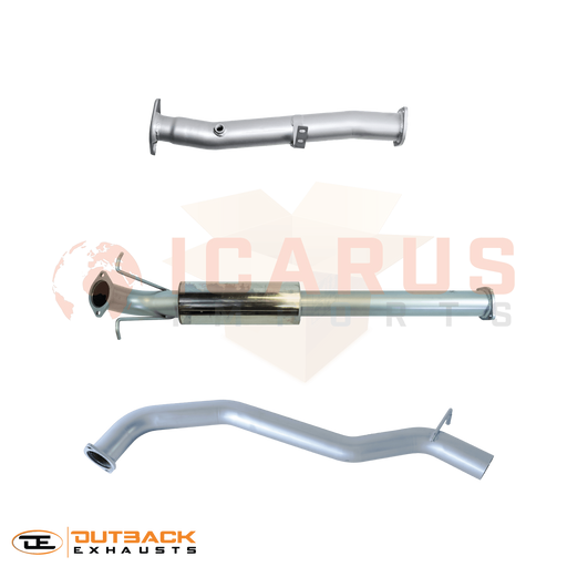 Outback Exhaust Systems - *ARRIVING IN JUNE* 3.2L Ford Ranger Current Model DPF Back 409 Stainless Outback Exhaust System