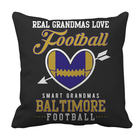 Limited Edition - Real Grandmas Love Football- Baltimore