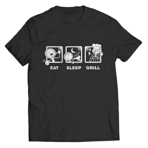 Eat Sleep Grill