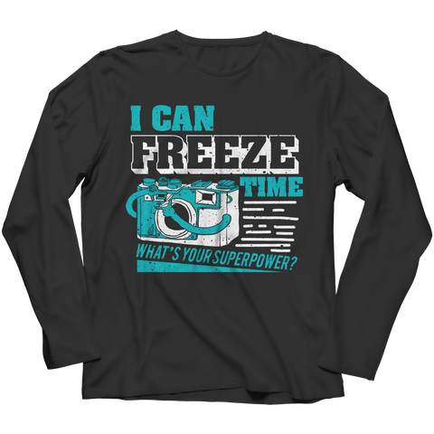 I Can Freeze Time What's Your Superpower?