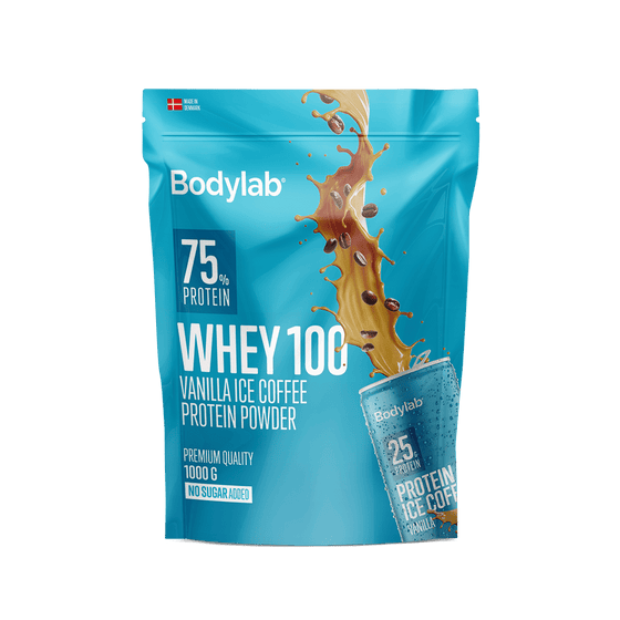 Bodylab Proteīni Vanilla Ice Coffee Bodylab Whey 100 (1 kg)