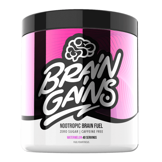 Brain Gains Veselībai Brain Gains Nootropic Brain Fuel (260 g)