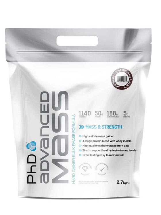 PhD Nutrition Svara palielinātāji PhD Nutrition Advanced Mass (2.7 kg)