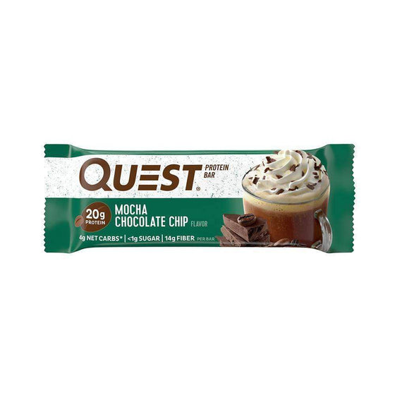 Quest Nutrition Pārtikas produkti Mocha šokolādes Quest Nutrition Bar (60 g)