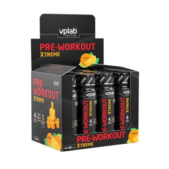 VPLab ener VPLAB Pre-Workout Xtreme Shot (12 x 80 ml)