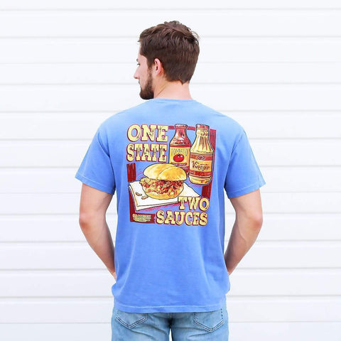 One State Two Sauces - Short Sleeve