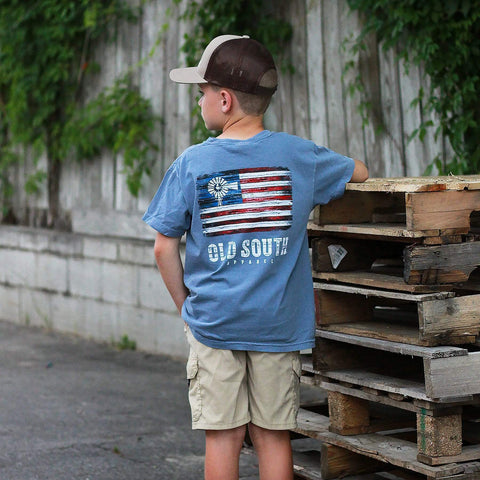 Pallet American Flag - Short Sleeve - Youth