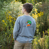 Wood Duck Head - Long Sleeve - Youth