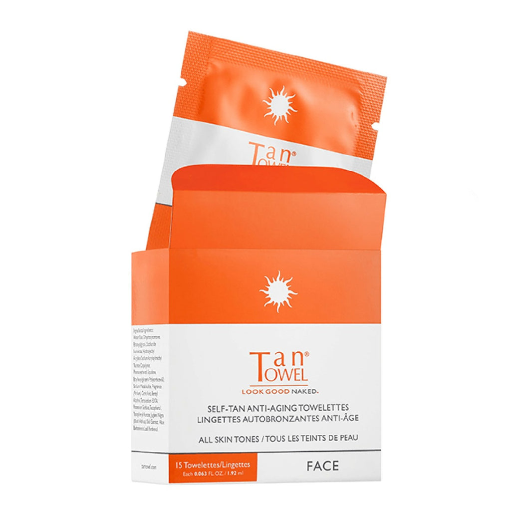 Face Tan Towelettes