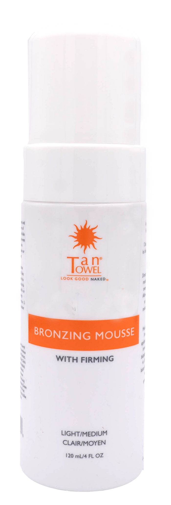 Bronzing Mousse With Firming - Self Tanning | TanTowel USA