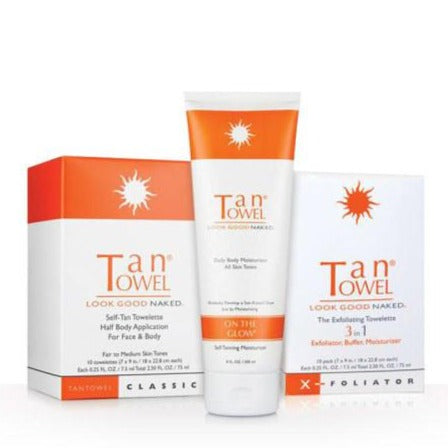 Starter Kit - Self Tanning | TanTowel USA