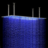 Stainless steel rain shower head
