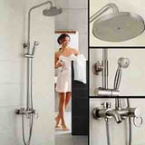 luxury bathroom gold shower