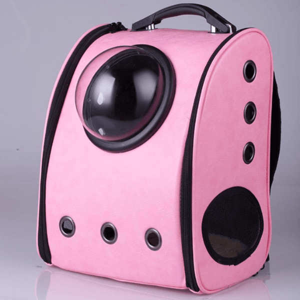 cat pink cabin backpack