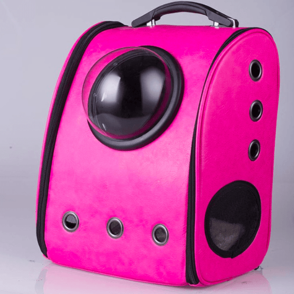 Space Cat Cabin backpack - DeepPink