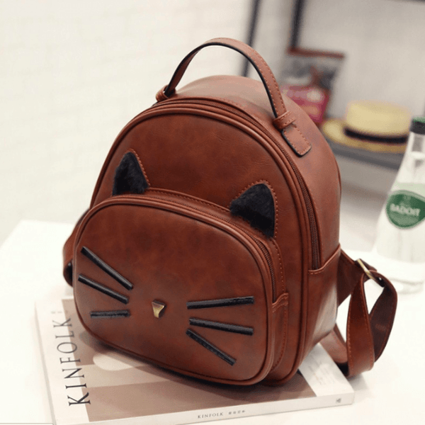 Kawaii Cat Ear Backpack - Available in 4 Colors